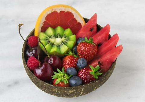 Las frutas y los vegetales son los reyes de la comida sana