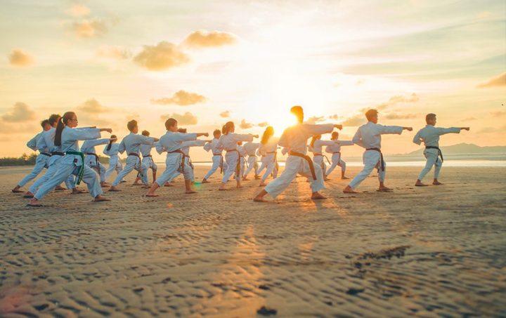 Practicar artes marciales tiene muchos beneficios