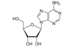 Molécula de adenosina